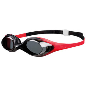 arena Spider Goggles Kinderen, red-smoke-black